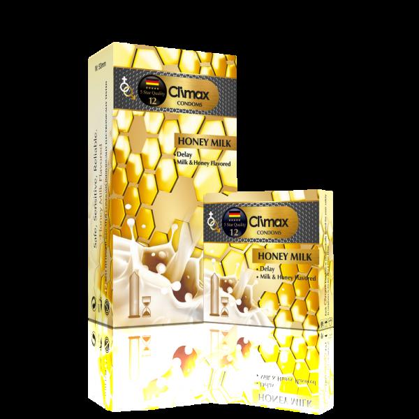 کاندوم شیر عسلی - Climax