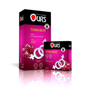 کاندوم تایتان بیت - Ours