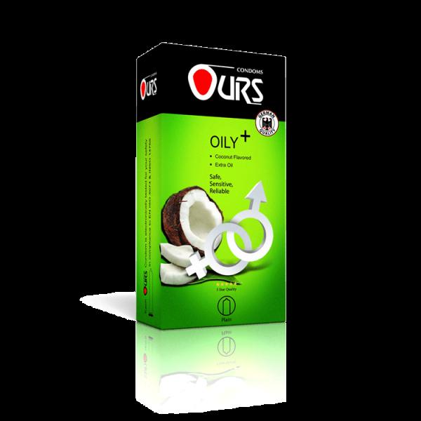 کاندوم 12 عددی روغنی پلاس - Ours