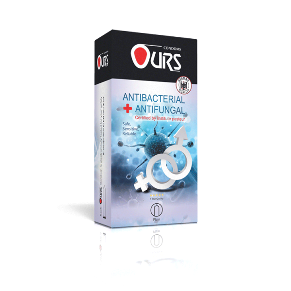 کاندوم 12 عددی آنتی باکتریال - Ours