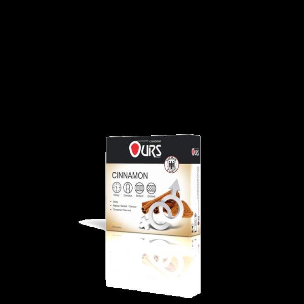 کاندوم 3 عددی دارچینی - Ours