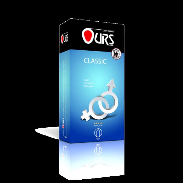 کاندوم 12 عددی کلاسیک - Ours