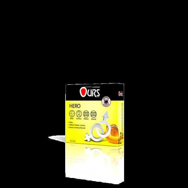 کاندوم 3 عددی قهرمان - Ours