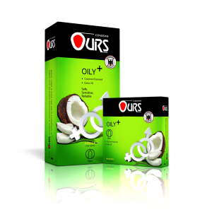 کاندوم روغنی پلاس - Ours