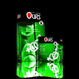 کاندوم تاخیری پلاس- Ours