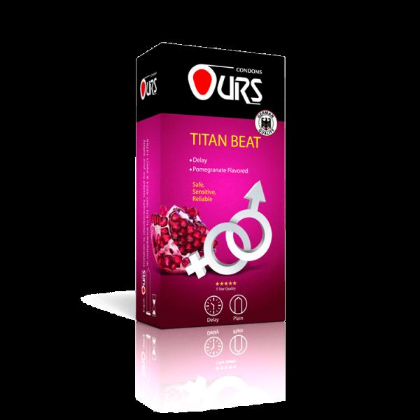 کاندوم 12 عددی تایتان بیت - Ours